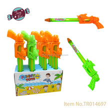 Summer water gun toy dolphin water shooter with candy,candy toy,toy candy