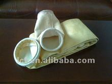 High Chemical Resistance Fiberglass Filter Bag For Cement Industry