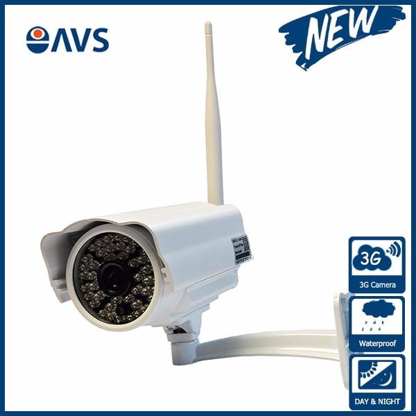 Audio Motion Detection Wifi Wireless Outdoor Security 3G GSM IP <strong>Camera</strong>