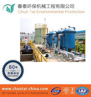 Membrane bioreactor package wastewater treatment plant