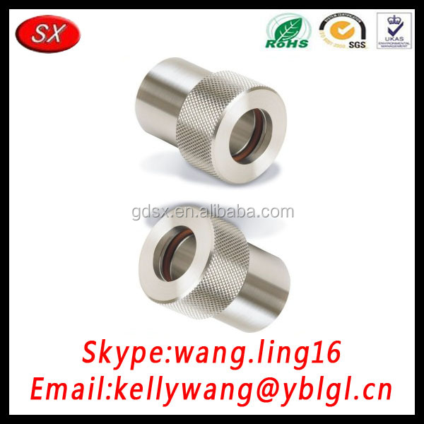 China customized cnc machining thumb screw, decorative head screw, wing screws with high quality