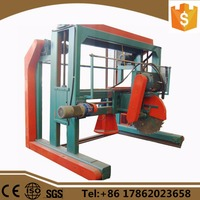 double saw blade angle sawmill for hard lumber with low price