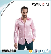 fashion latest new model slim fit check men's long sleeve dress shirt