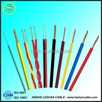 PVC insulated copper wire house wiring electric wire and cable