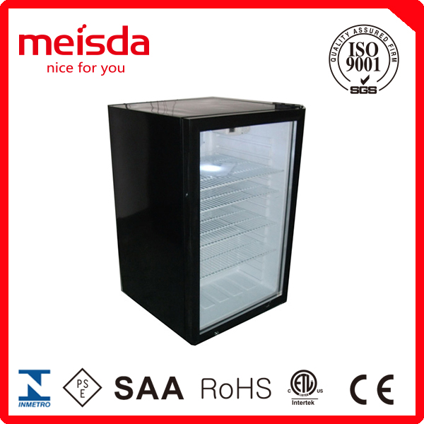 130L commercial refrigerator with CE ETL, commercial refrigerator for fruits and vegetables