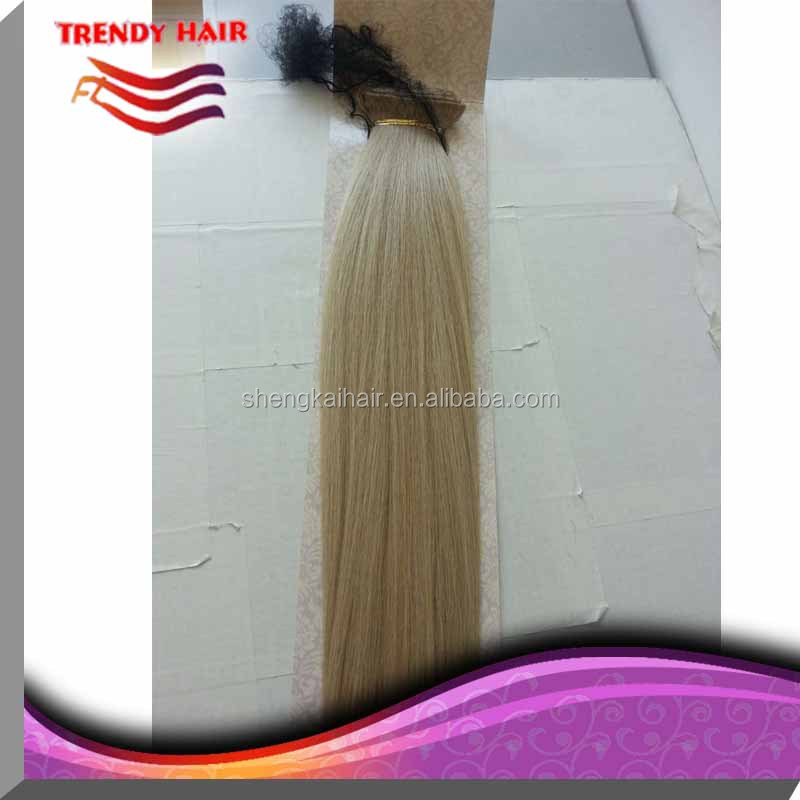 Quality synthetic hair clip in hair extensions for white women