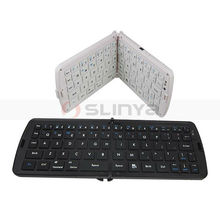 Portable Slim Middle Folding Bluetooth Keyboard for iPad Air