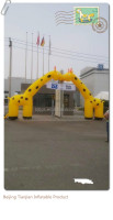 high quality promote inflatable deer arch for advertising