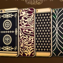 Metalik Maze Cover Case For Iphone 4g 4 4s 5g 5 5s