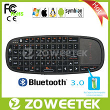 Best selling bluetooth keyboard for android 2.0/2.1/2.2 with laser pointer