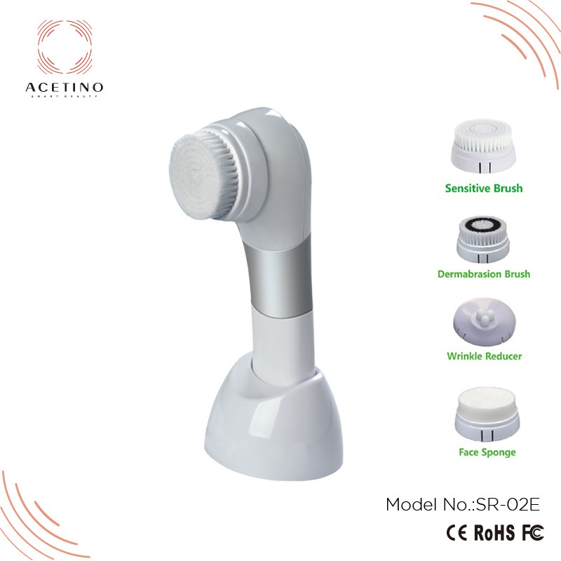 Plastic facial cleansing brush sensitive skin with high quality