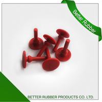 factory customized rust red silicone seal polish the mold
