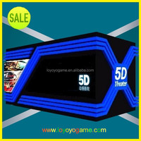 5D cinema hydraulic with 6 seats