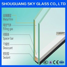 16-30 mm hiah quality clear/tinted/reflective/tempered/laminated /argon/lowe Double Glazing Glass price
