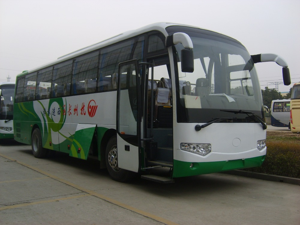 Dongfeng High Quality 44 Seats Hybrid Bus