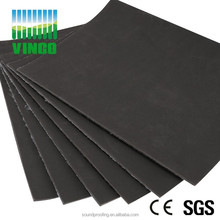 newly PVC soundproof plastic noise reducing soundproof plastic