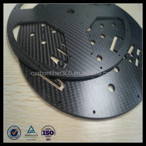 CNC cutting carbon fiber sheets/plate/board/panel