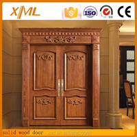 High quality teak solid wood main door designs