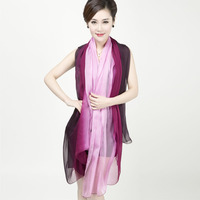 2015 New Quality Hand-painted gradient long Scarf Wholesale