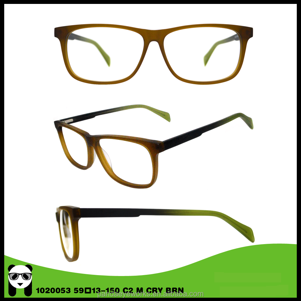 Customize Acetate Hand Made Simple Unisex Optical Frames