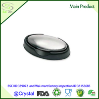 Odor removing magic stainless steel soap with plastic holder