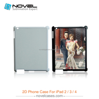 For iPad 2/3/4 Sublimation plastic phone cover case