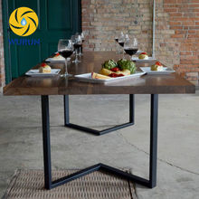 China Supplier Factory Price Square Tube Iron Wrought Iron Coffee Table Legs