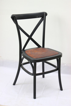 popular wedding crossback chair plastic