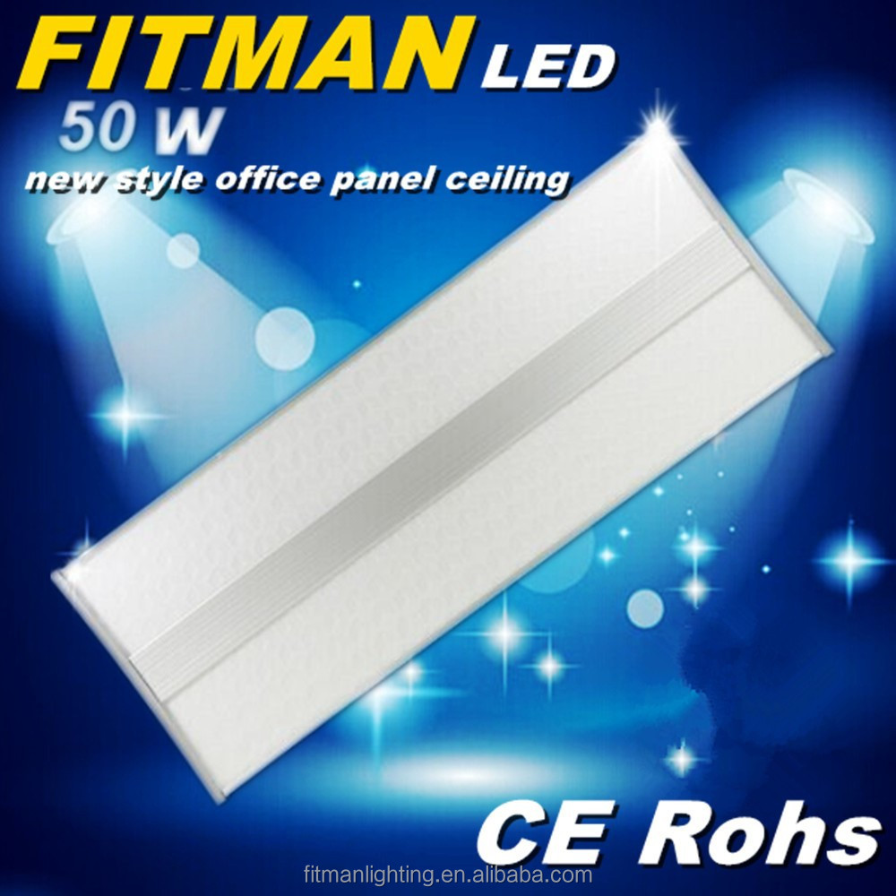 New product size 800mm*300mm 50w suspend panel led office ceiling light