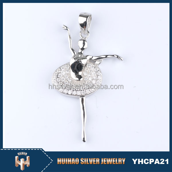 minimum price high quality girls jewelry angel wing 925 sterling silver charms