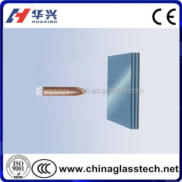 Safety High Strength Tempered Bulletproof Glass Price with CE Certificate