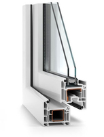 Henan Lanke hot selling pvc profiles/upvc profiles/pvc profiles for windows and doors veka
