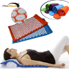 Folding Eco-friendly Healthy Acupressure Mat And Pillow Set