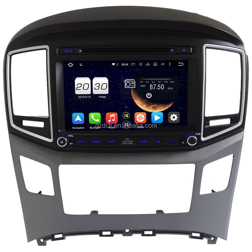 android 6.0 car dvd player for Hyundai H1 iLoad iMax H300 Dodge <strong>H100</strong> Van/Wagon 1024*600 octa core 2G+32G support 4G WS-9723