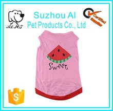 Cute Small Puppy Cat Logo Customized Vest Pet Dog Clothes