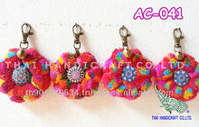 Key Chains Accessories Hill Tribe Handmade