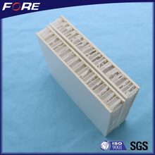 Polypropylene honeycomb panels type,Excellent insulated FRP PP honeycomb Sandwich panel