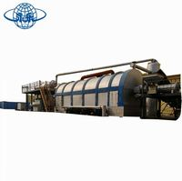 Cheap price automatic waste tire pyrolysis machine/waste tyre pyrolysis plant 5 to 12 tons per day