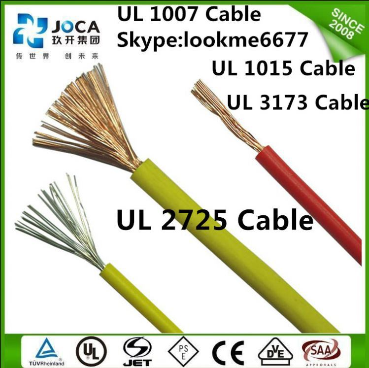 PVC coated electrical Wire 3 AWG XLPE Insulated UL 3321 Wire