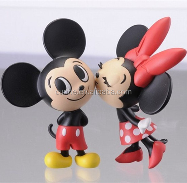 Minnie mouse plastic molds