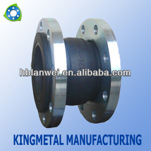 Good Quality floating flange single arch rubber expansion joints