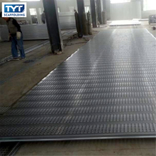 hot dipped galvanized Q195 steel catwalk/scaffolding plank