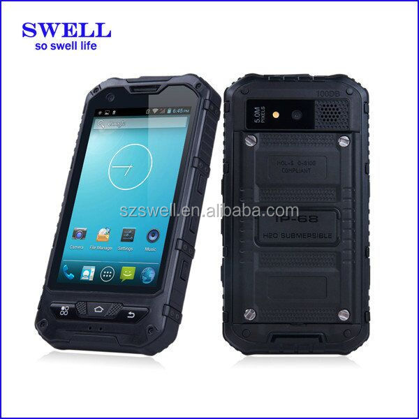 Super waterproof industrial use dustproof shockproof mobile phone smartphone waterproof IP68 top quality rugged mobile a8 6 sim