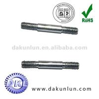 stainless steel ejector round bar with thread