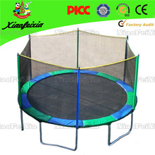 Chinese supplier circular mini folding trampoline for child kid with bungee exercise