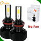 L5 L5S L5S RGB dual color led headlight COB/FLIP led lighting 12v h4 h7 h11 h13 h15 9012 9004 9007 L5 led headlight for auto