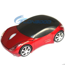 2.4G Driver Wireless USB Mouse Cute 3D Car Shape Wireless Optical Mouse