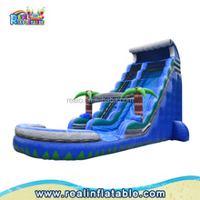 Top quality giant inflatable slide for adult,water park slide,inflatable water slides