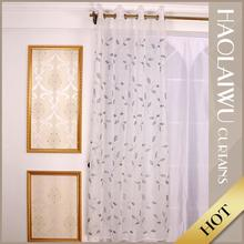 OEM service latest design soft woven sheer curtain fabric for hotel