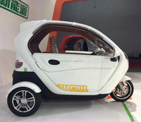 Closed Cabin Electric Tricycle / Three Wheel Rechargeable Electric Car Hot Sale in Phillipine